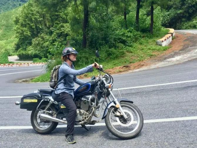 Hai Van Pass Motorrcycle Tour with MotorVina in Vietnam