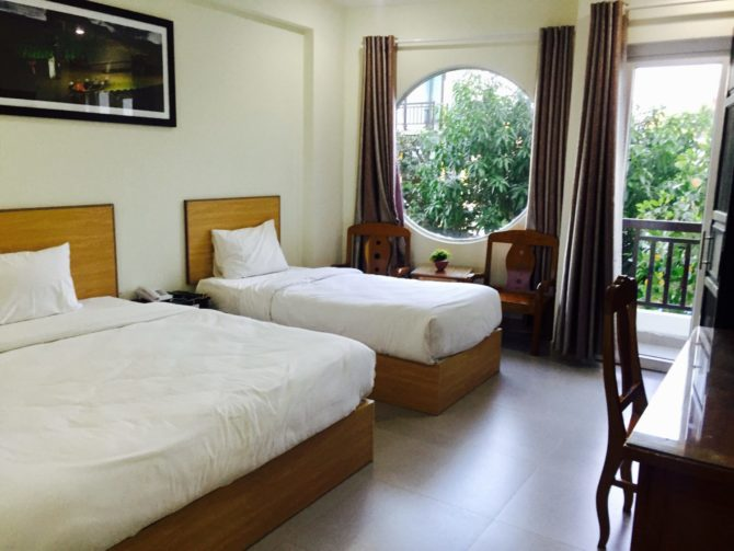 Triple room with Balcony at Hoi An Paradise Hotel in Hoi An, Vietnam