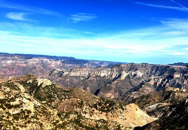 Divisadero View in Copper Canyon, Mexico