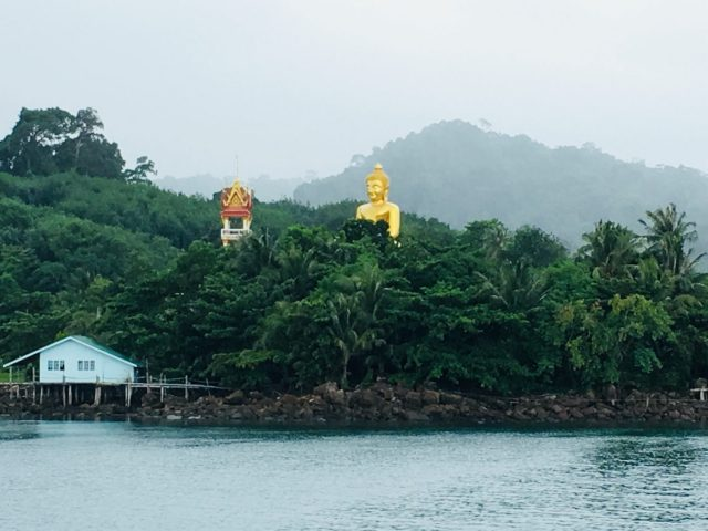 Golden Buddha on Koh Kood in Thailand