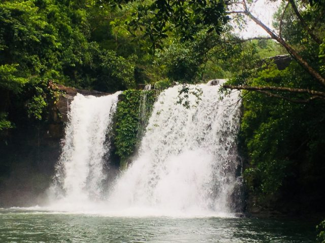 Khlong Chao Waterfall on Koh Kood in Thailand