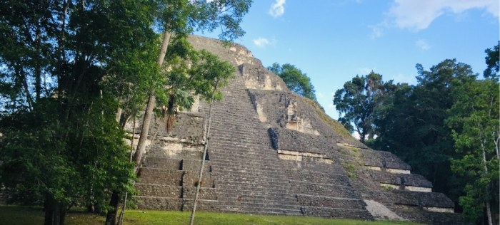 The Mayan Ruins of Tikal in Guatemala