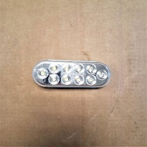 "561BC 6"" OVAL CLEAR LED BACKUP LIGHT ONLY"