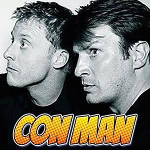 Con Man Logo - Alan Nathan