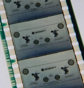 Serenity Film Strip