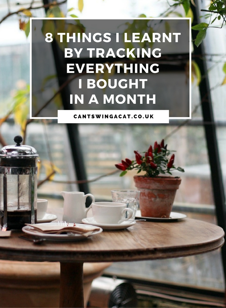 8 Things I Learnt By Tracking Everything I Bought In A Month