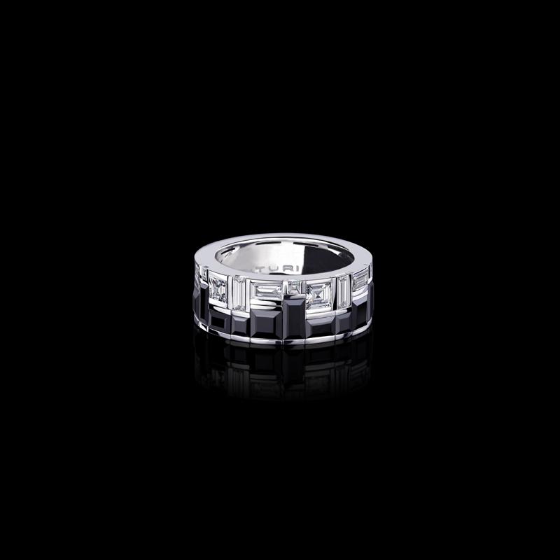 Jewels Cubism Radiant Ring Canturi