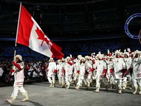 Danielle Goyette, Canada's flag bearer in Torino 2006