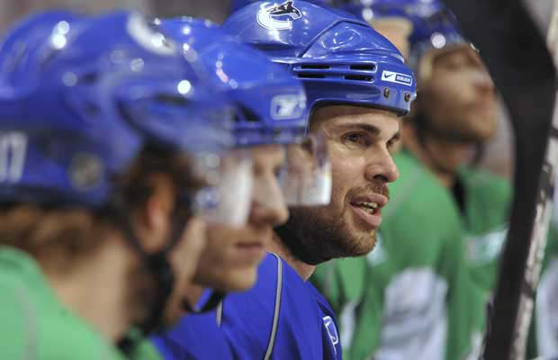 Willie Mitchell Vancouver Canucks