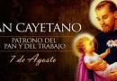En Cañuelas habrá una Misa por San Cayetano