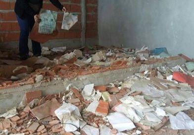 Extraño caso de vandalismo en las viviendas del barrio Morgante