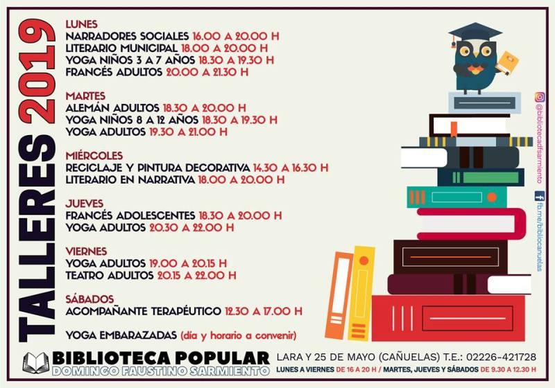 talleres biblioteca