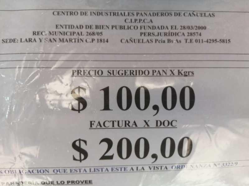 pan 100 pesos