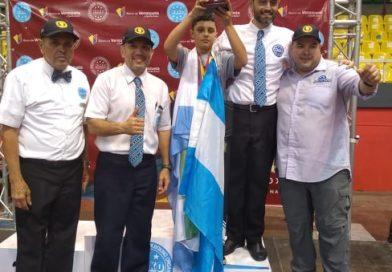 Santiago Garavaglia  y una gran cosecha de medallas en Venezuela