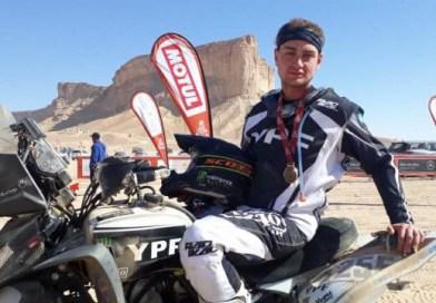 Un Lobense termina  cuarto en el Dakar