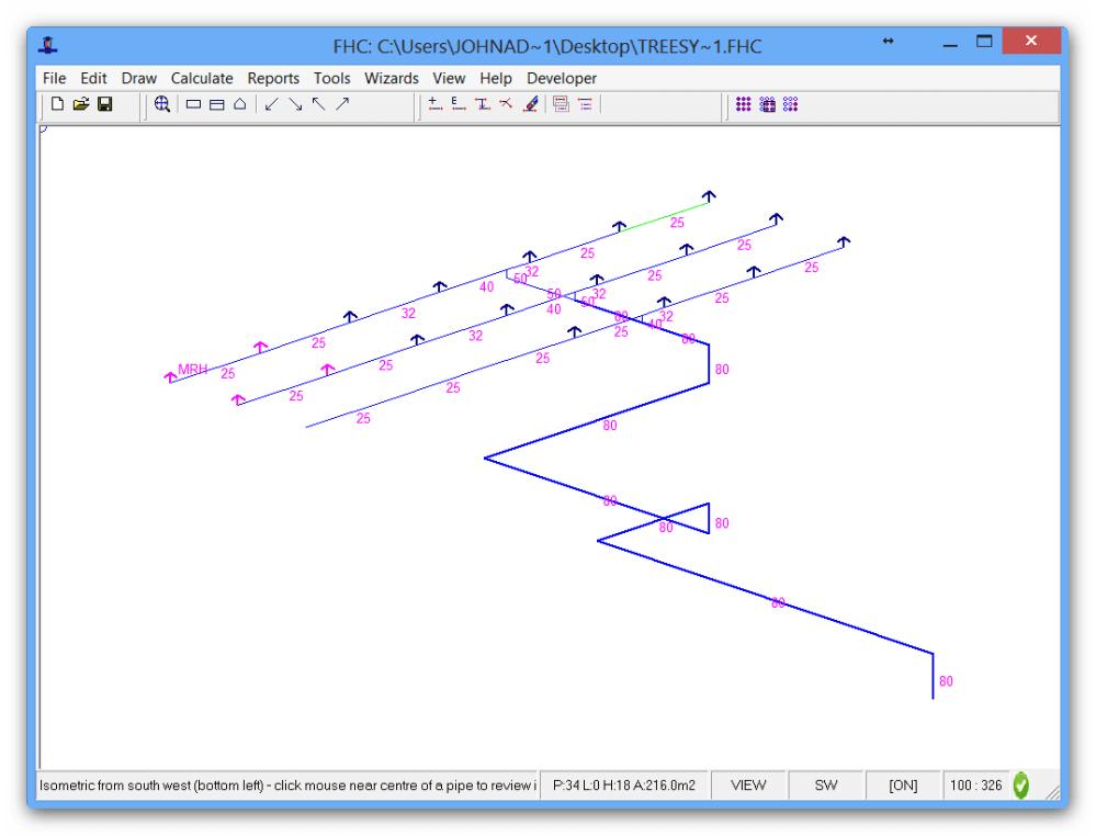 medium resolution of piping layout calculation