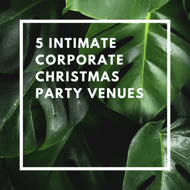 5 intimate corporate christmas party venues