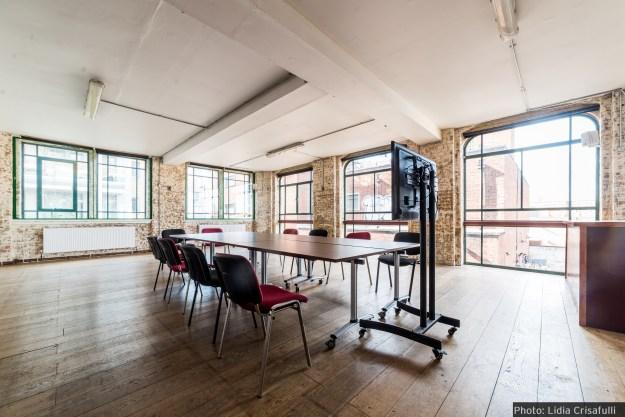 arcola theatre meeting room