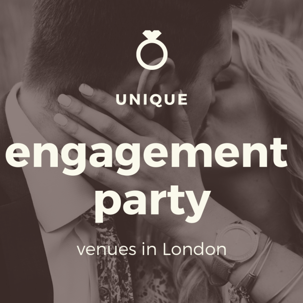 unique engagement party venues in london