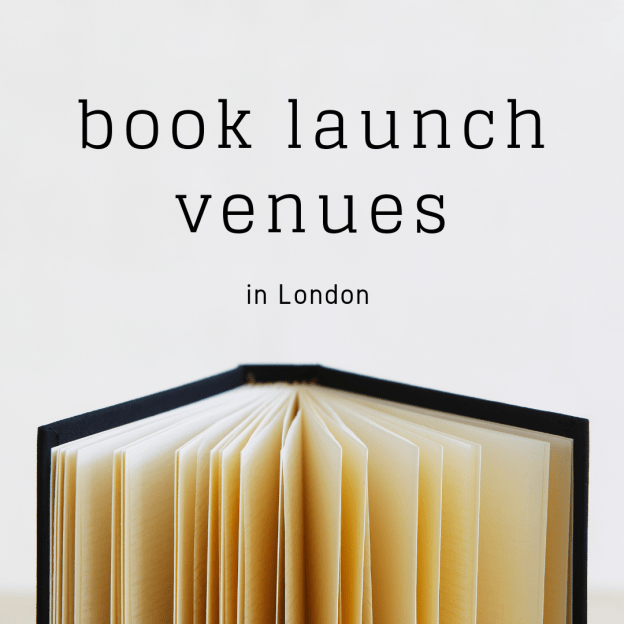 book launch venues in london