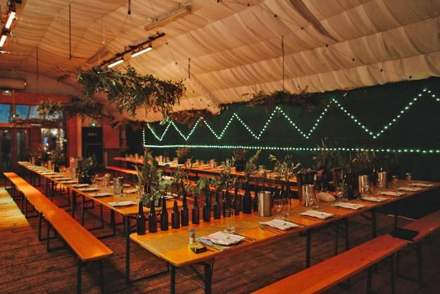 london fields brewery warehouse wedding