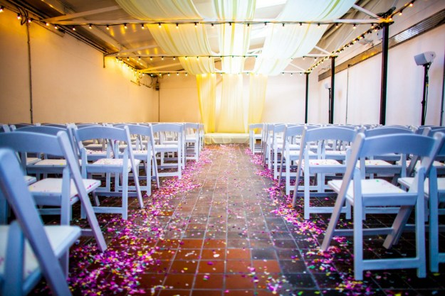 pickle factory warehouse wedding