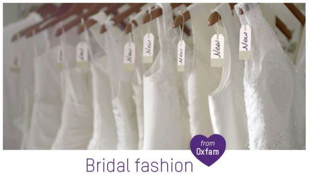wedding dresses from oxfam