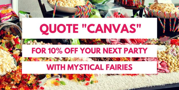 Mystical Fairies children's parties - Canvas Events