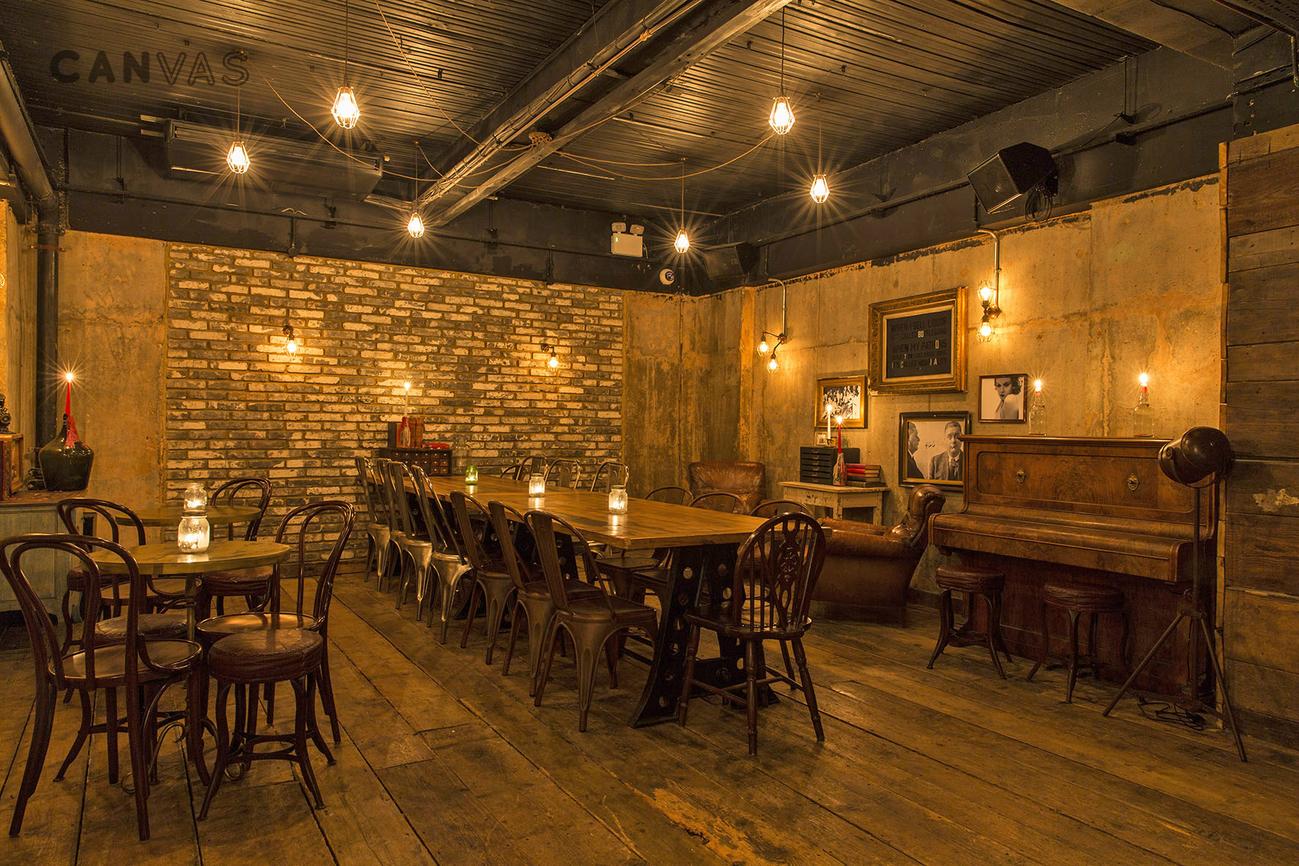 The Bootlegger  London Venue Hire  Canvas Events