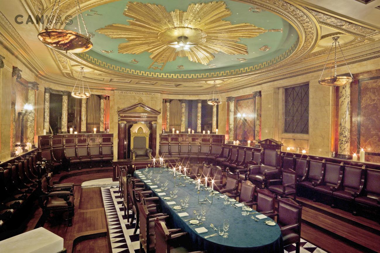 Masonic Temple  London Venue Hire  Canvas Events