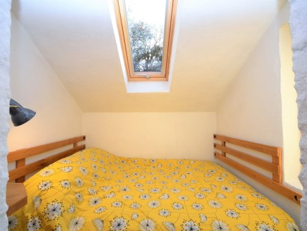 the double bedroom in the cottage