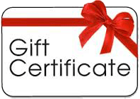Click here to purchase a gift certificate