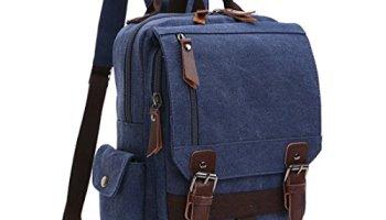 3b8f331ef6 Sling Chest Bag Leparvi Backpack Purse Canvas Fashion Rucksack Unbalance  One Strap Cross body Messenger Bag
