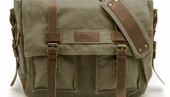 79abcc411bd2 Sweetbriar Classic Messenger Bag – Vintage Canvas Shoulder Bag for ...