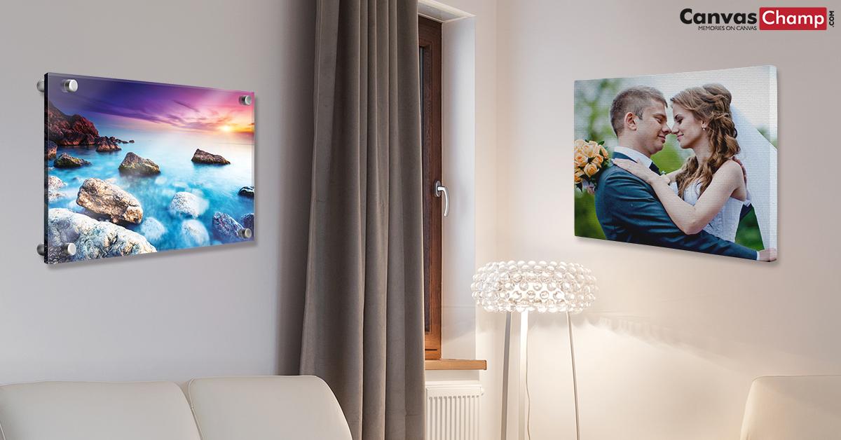 acrylic prints vs canvas