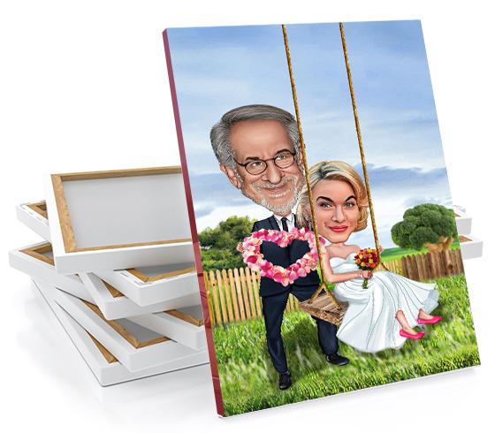 caricature photos create a