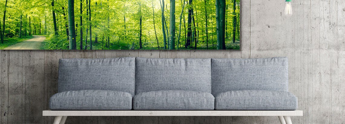 Panorama Foto Op Canvas  Bestel Direct CanvasCompany