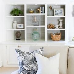 Simple Ideas To Decorate Your Living Room How A Beige 19 Super Home Decorating For Canvas Built In Bookcases