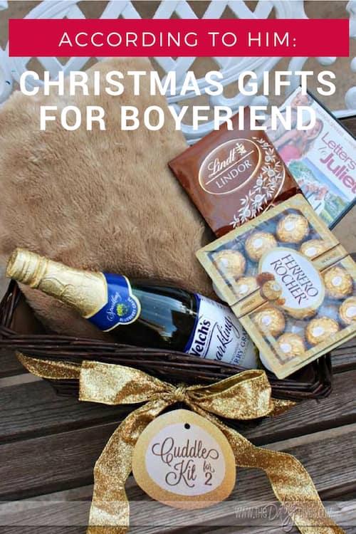 Christmas Gifts Boyfriend