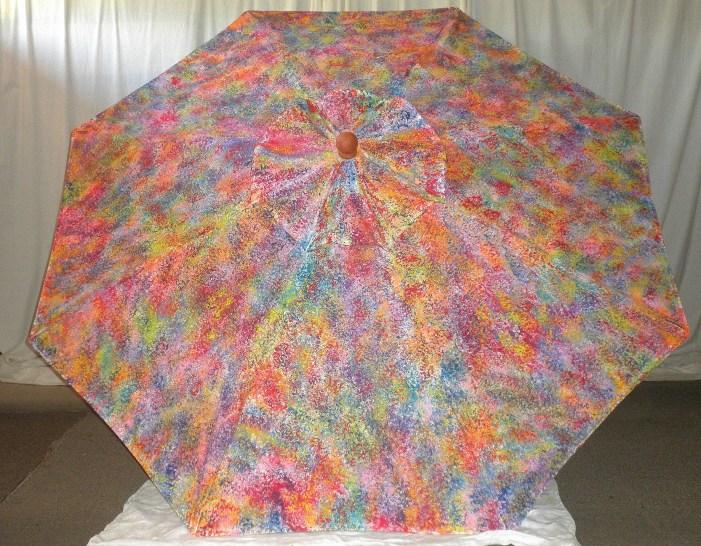 Splash of Color Market Umbrella