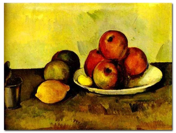 Stilllife with Apples Cezanne Paintings Famous Art