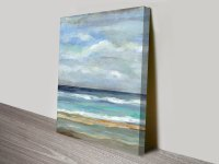 Seashore by Silvia Vassileva Canvas Wall Art Print