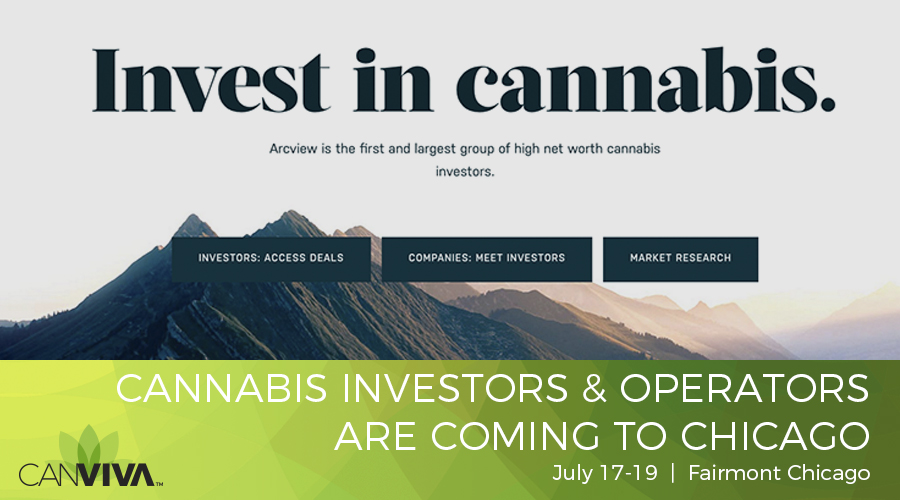 CANVIVA™ To Sponsor Arcview International Cannabis Investor Forum