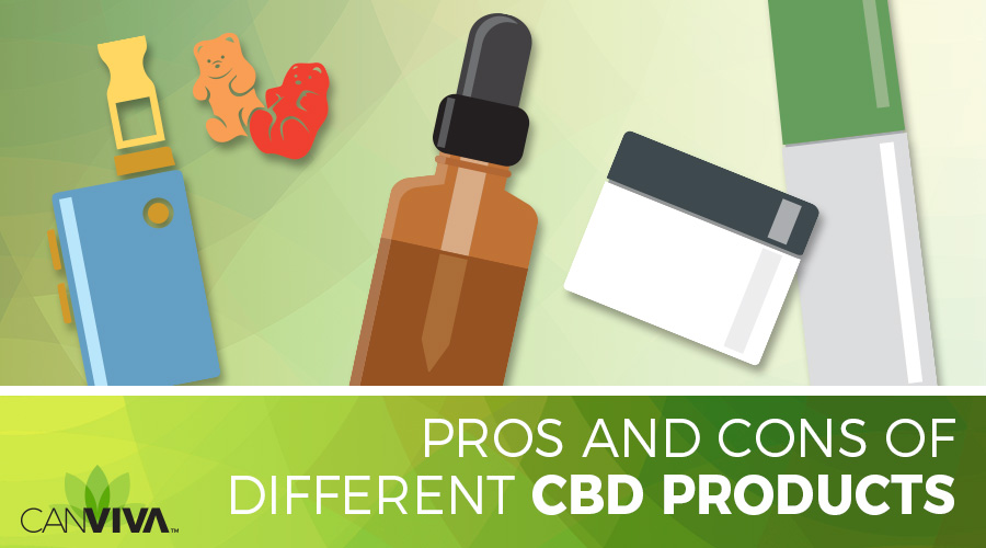Pros And Cons Of Different CBD Products