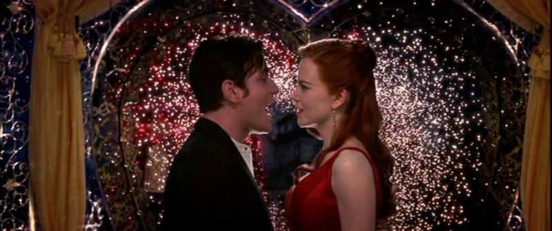Christian calls in a favor with a fireworks guy he knows to seduce Satine in Baz Luhrmann's 2001 movie musical Moulin Rouge!