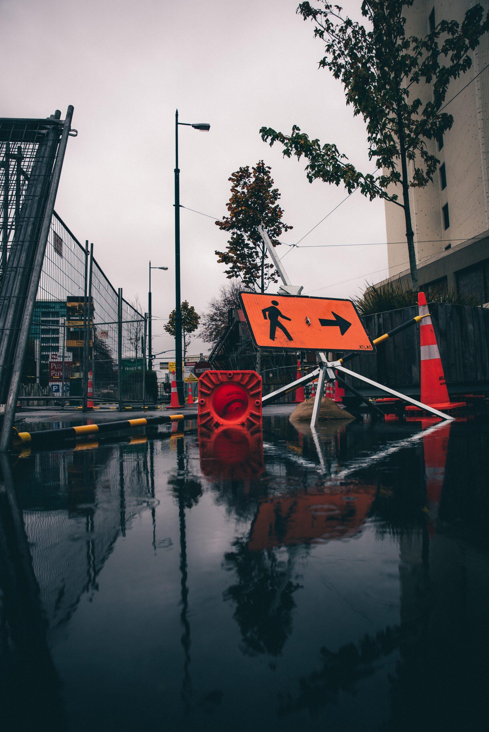 Water Main Break Shuts Down Street