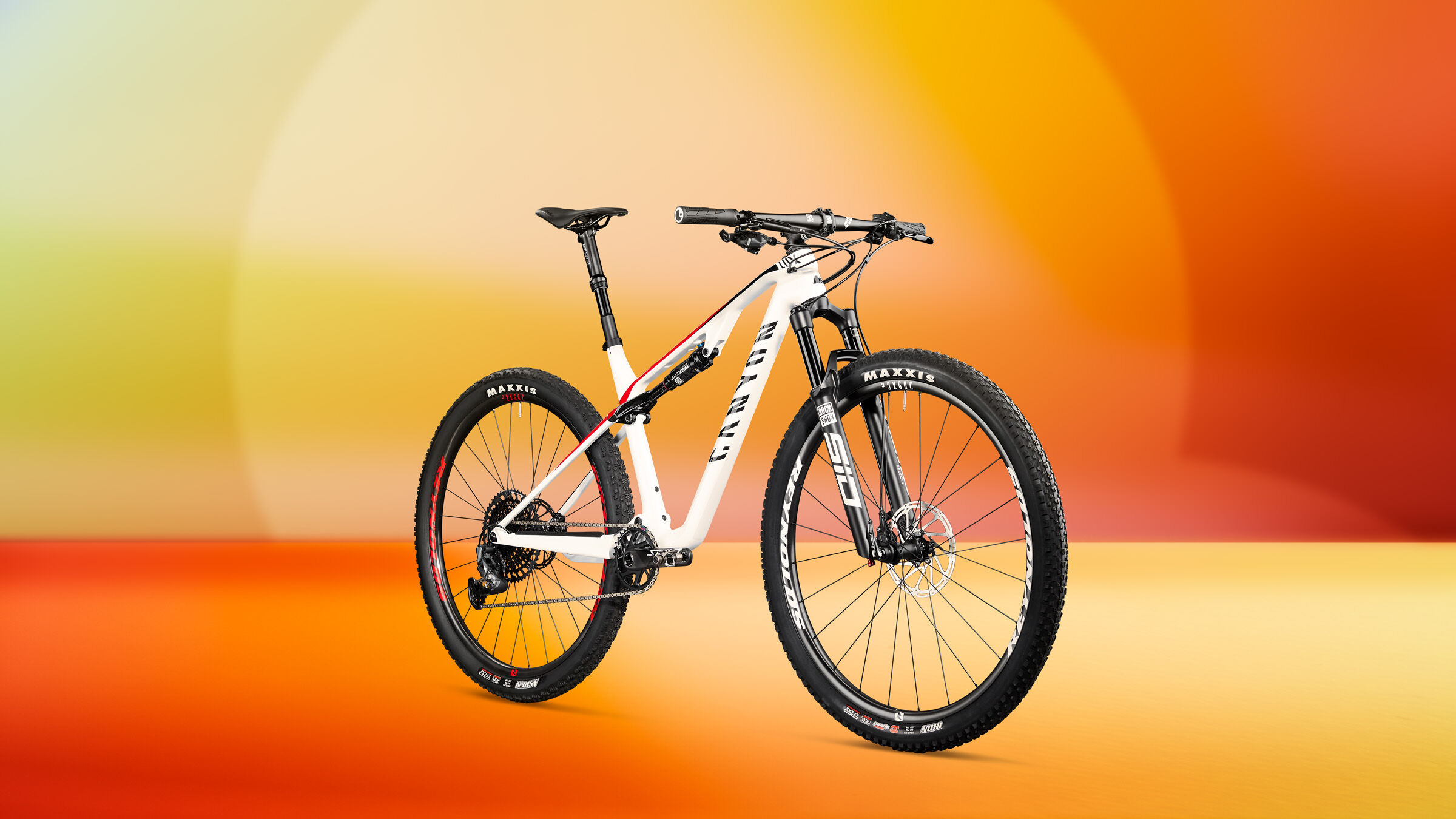 full suspension mtb xc race bike