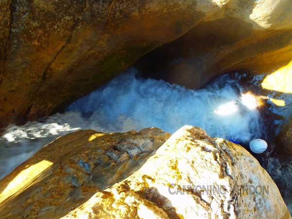 Canyoning à Saint Auban