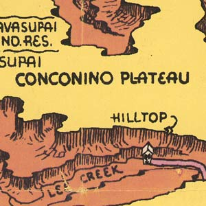 I love the lettering on this old map —misspelled toponyms not withstanding.