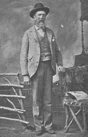 Old photograph of John Hance